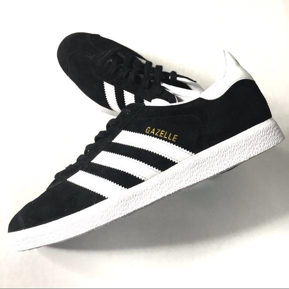 adidas Other - Adidas Black and White Gazelle Sneakers Men's 8